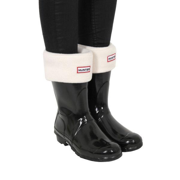 Hunter Women's Short Welly Socks - Cream: Image 3