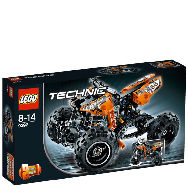 lego technic quad bike 9392 toys. Black Bedroom Furniture Sets. Home Design Ideas