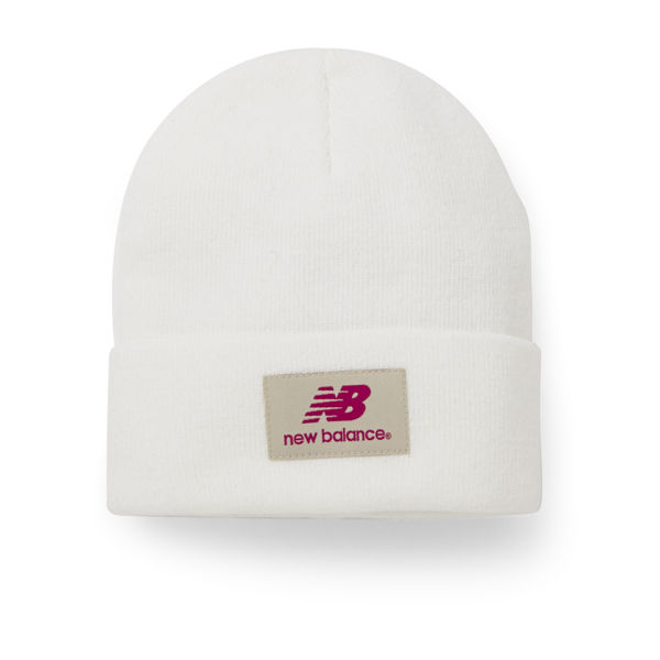Bonnet Unisexe New Balance -Blanc
