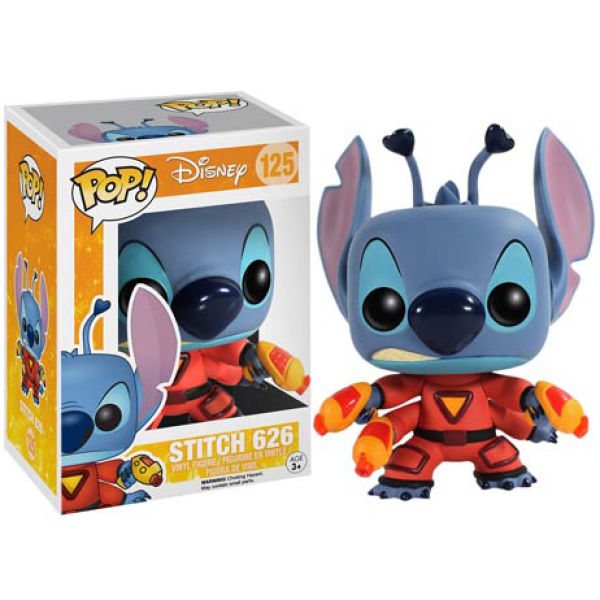 Figurine Pop! Disney Lilo et Stitch Expérience 626 Spacesuit