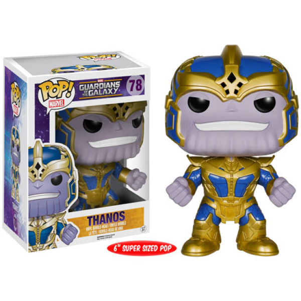 Marvel Guardians of the Galaxy Thanos 6 Inch Pop! Vinyl Figure
