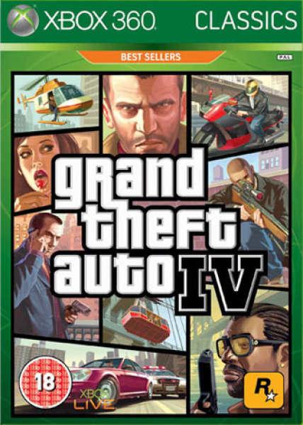 Grand Theft Auto IV (4) Classic