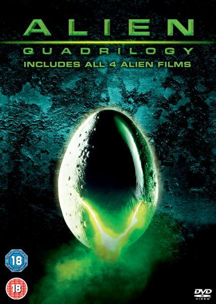 Alien Anthology Box Set Dvd Zavvi