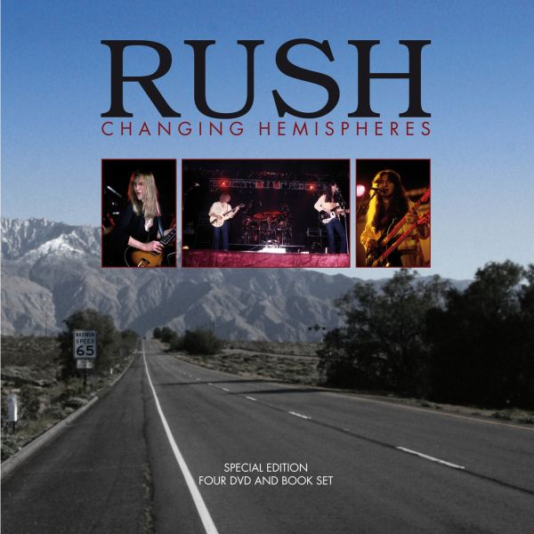 Rush: Rush: Changing Hemispheres (4DVD plus Book)