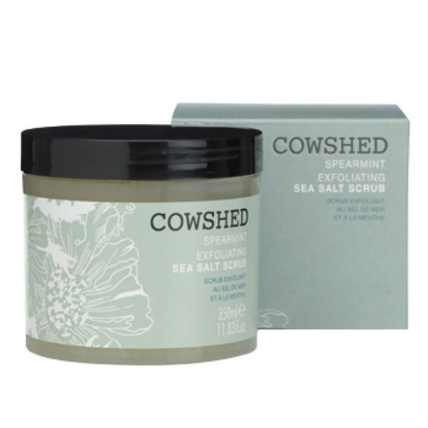 Cowshed Spearmint Exfoliating Sea Salt Scrub (350 ml)