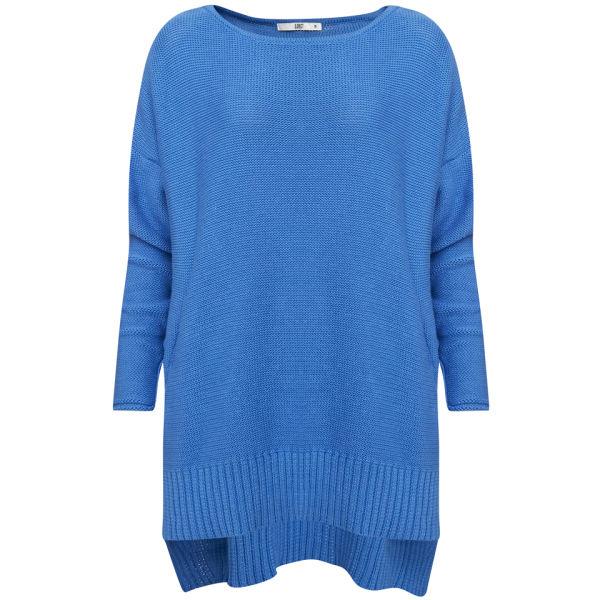 D.EFECT Women's Garey Cotton Sweater - Blue