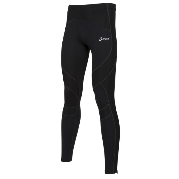 Asics Men's Leg Balance Performance Running Tights - Black