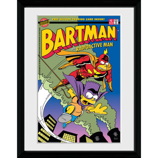 The Simpsons Bartman - 30x40 Collector Prints