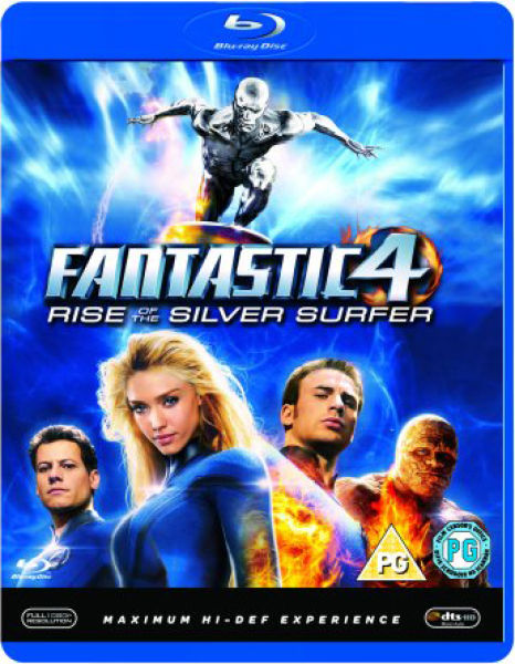 Fantastic four rise of the silver surfer blu ray zavvi for Inside 2007 movie online free