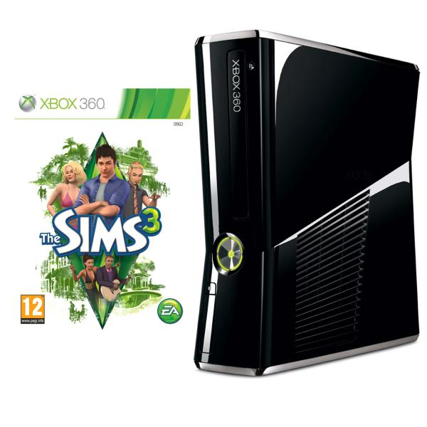 Xbox 360 250gb Bundle Includes The Sims 3 Games Consoles
