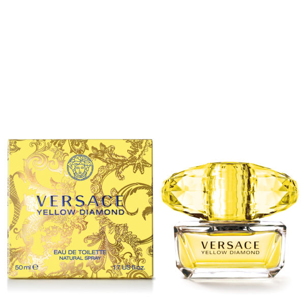 Versace Yellow Diamond 50ml Eau de Toilette