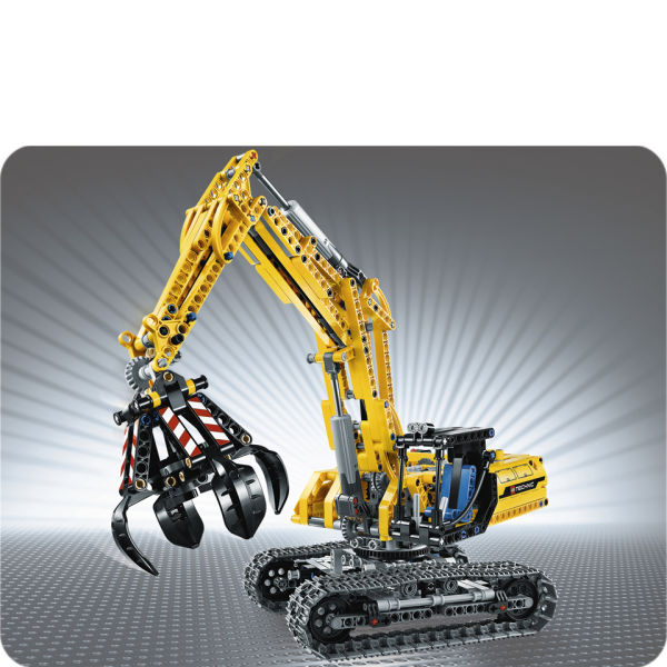 lego technic excavator 42006 iwoot. Black Bedroom Furniture Sets. Home Design Ideas