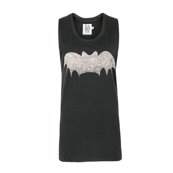 Zoe Karssen Women's 040 Bat Muscle Vest - Black