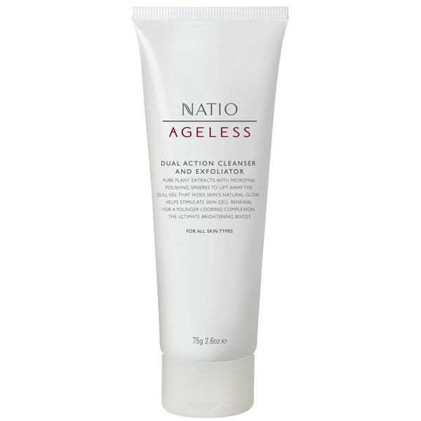 Natio Dual Action Cleanser And Exfoliator (100g)