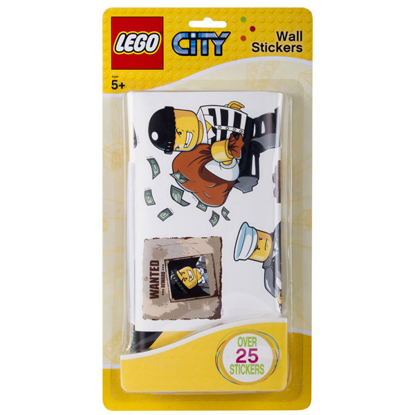 LEGO Wall Stickers Police   Small Pack: Image 1