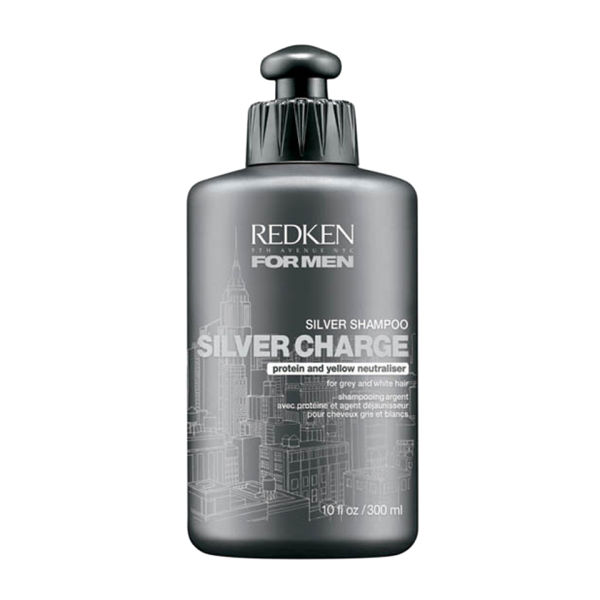 Redken For Men Silver Charge Shampoo 300ml Free