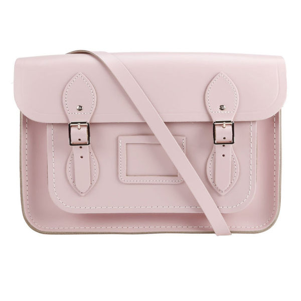 The Cambridge Satchel Company 13 Inch Classic Leather Satchel - Peach Pink