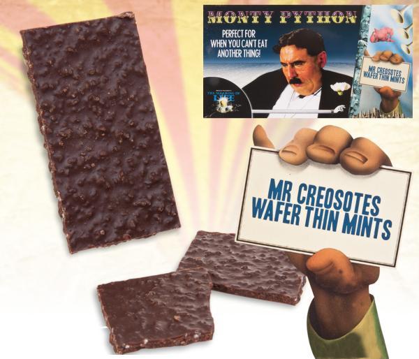 Monty Python Wafer Thin Mints Iwoot