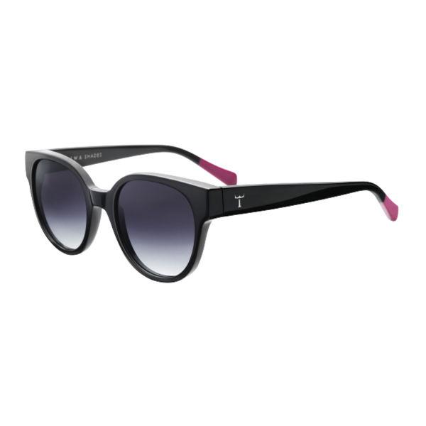 Triwa Midnight Thelma Oversized Sunglasses - Black