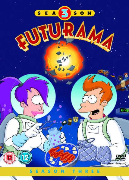 Futurama Season 3 Box Set Dvd Zavvi