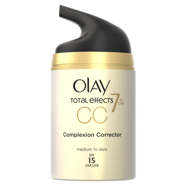 CC Cream correctora de poros de Olay Total Effects - Medio (50ml)