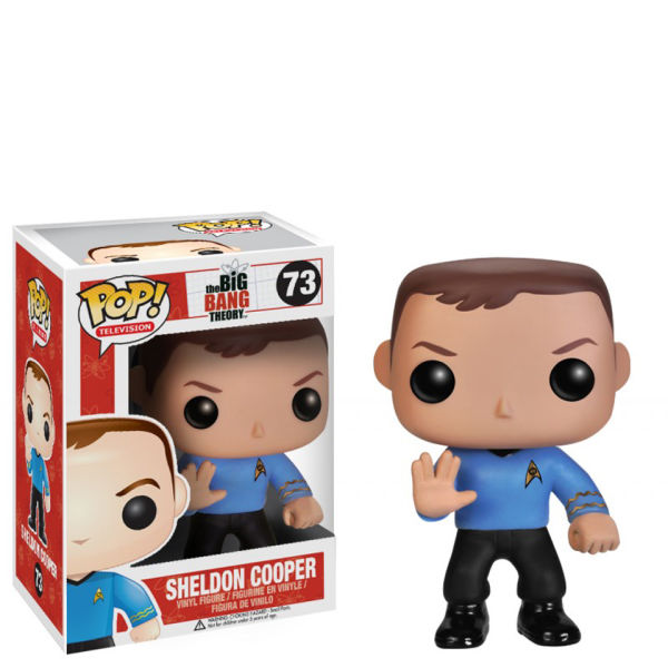 The Big Bang Theory Sheldon Star Trek Pop! Vinyl Figure
