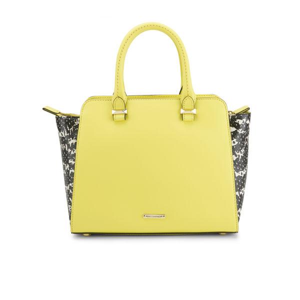 Rebecca Minkoff Women's Mini Avery Leather Winged Tote Bag - Yellow Multi
