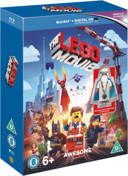 The LEGO Movie (Includes LEGO Minifigure Vitruvius) Blu-ray | Zavvi