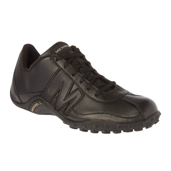 784fd53e0 Merrell Men s Sprint Blast Leather Urban Shoes - Black Grey Sports ...