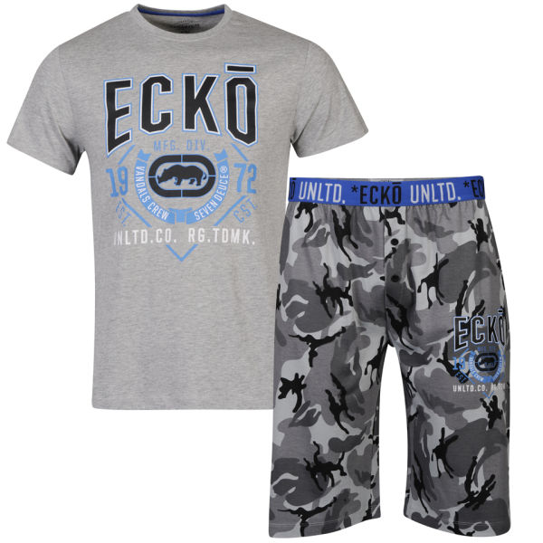 ecko s loungewear set camo mens zavvi