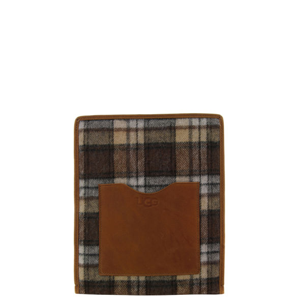 UGG Women's IPad Sleeve - Brownstone Plaid