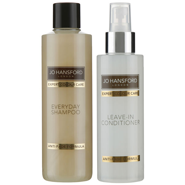 Shampooing Everyday (250ml) et Après-shampooing Sans Rinçage Protect and Shine (150ml) Expert Colour Care de Jo Hansford