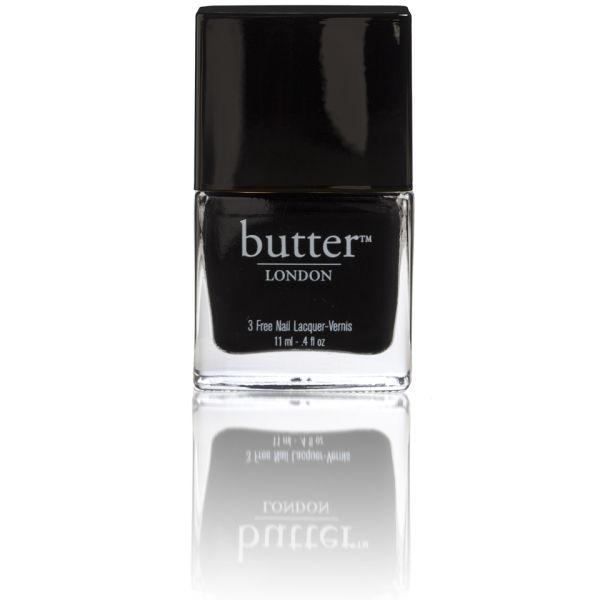 Laca de uñas butter LONDON - Union Jack Black 11ml