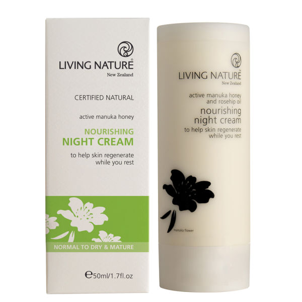 Crema de Noche Nutritiva de Living Nature 50 ml