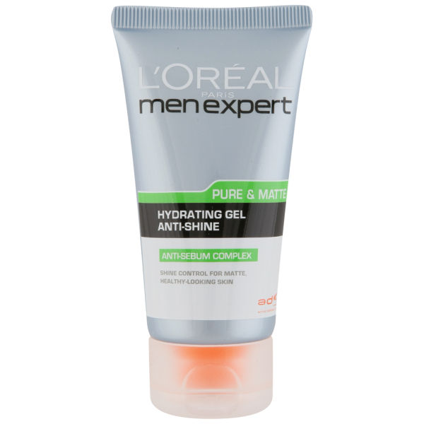 L'Oreal Paris Men Expert Pure & Matte Anti-Shine Moisturising Gel (50ml)