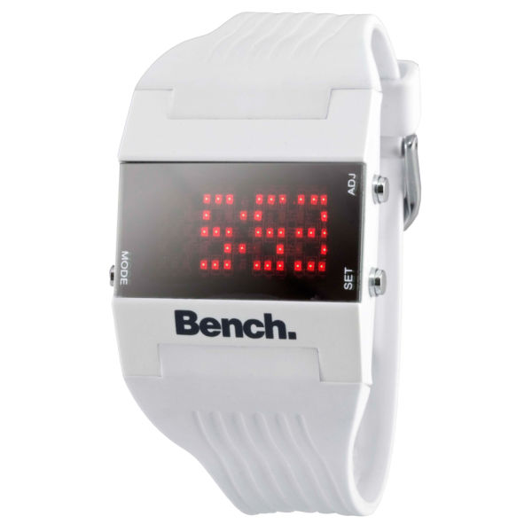 Am Ex Login >> Bench Women's White Strap Digital Watch Clothing   TheHut.com