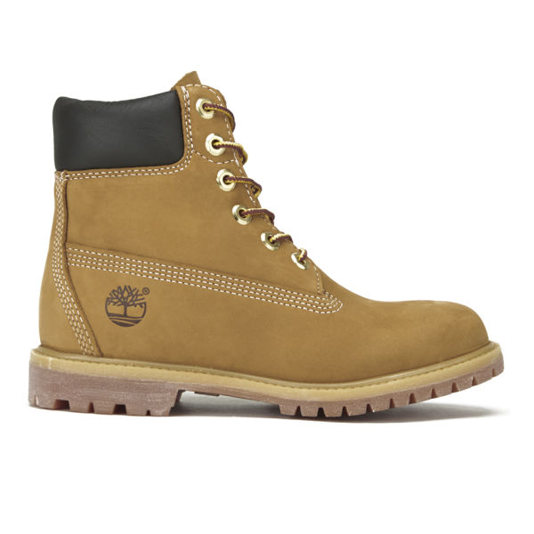 Timberland Women S 6 Inch Premium Leather Boots Wheat