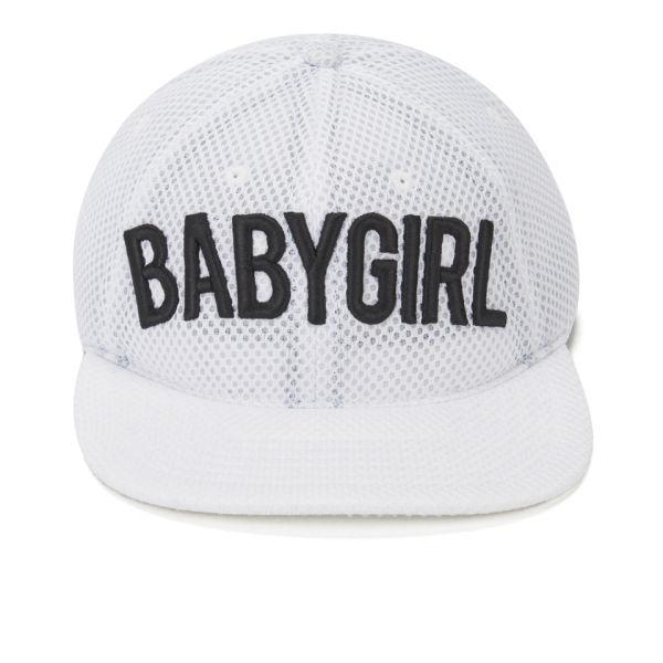 Dimepiece Women's Babygirl 6 Panel Mesh Cap - White
