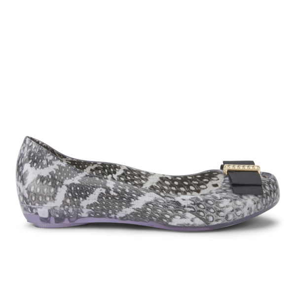 Jason Wu for Melissa Women's Ultragirl Bow Ballet Flats - Smoke Snake