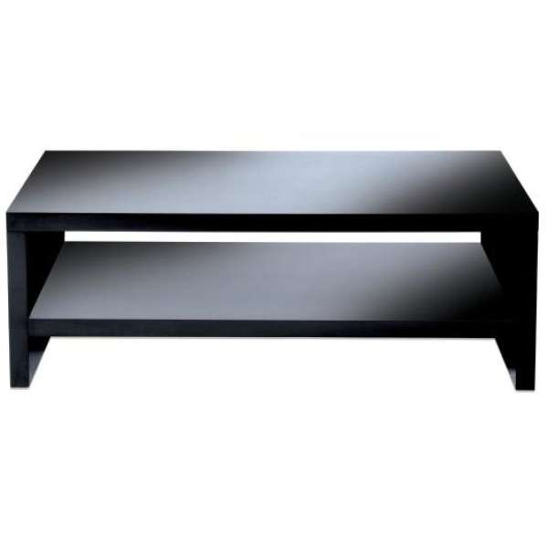 levv black high gloss tv stand for up to 50 inch tvs homeware. Black Bedroom Furniture Sets. Home Design Ideas