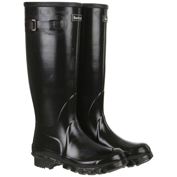 Barbour Women S High Gloss Wellington Boots Black Free