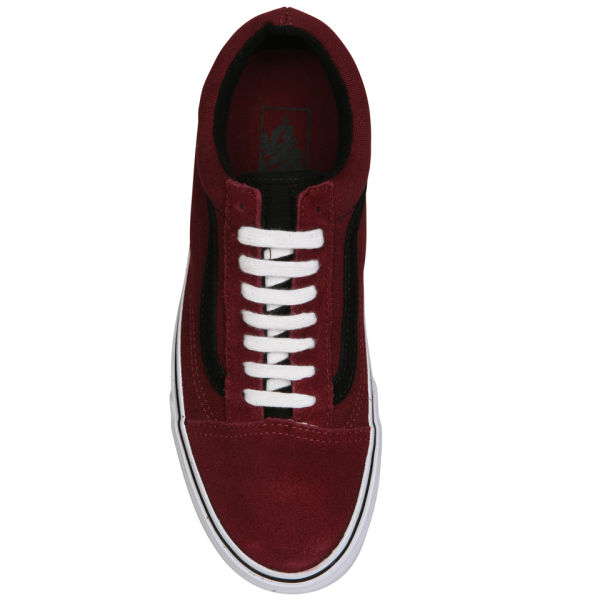 Varebiler Old Skool Suede / Lerret Trenere - Port Royale / Svart VOjaE