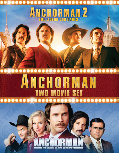 anchorman the legend of ron burgundy anchorman 2 the