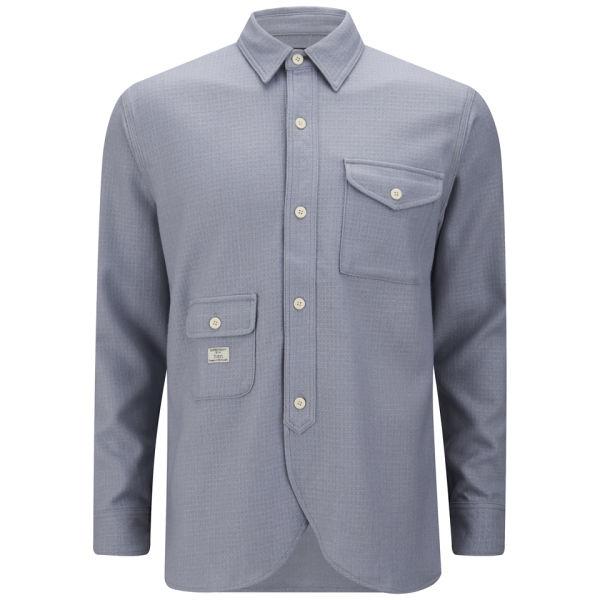 Han Kjobenhavn Men 39 S Multi Pocket Army Shirt Grey Free