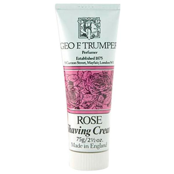 Trumpers Shave Cream - Rose 75g Tube