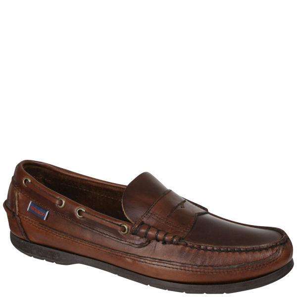 b3c3161ec0 Sebago Men s Sloop Moccasin Boat Shoes - Brown - Free UK Delivery ...