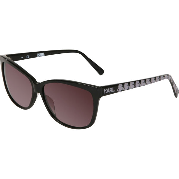 Karl Lagerfeld Oversized Sunglasses - Black