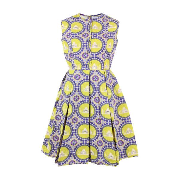 Charlotte Taylor Women's Quilted Taj Print Dress - Multi