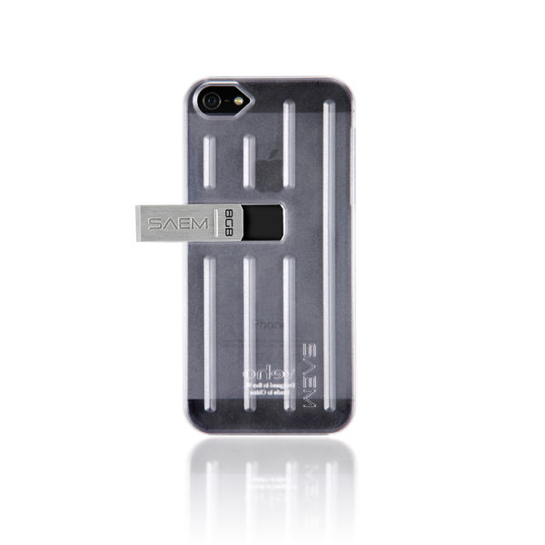 veho saem s7 iphone case with integrated 8gb usb pen drive. Black Bedroom Furniture Sets. Home Design Ideas