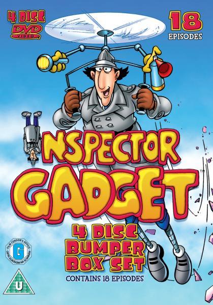 Inspector Gadget Box Set Dvd Zavvi